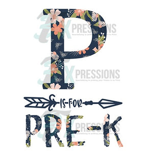 P is for Pre-K