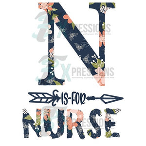 HTV N is for Nurse