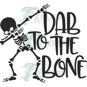 Dab to the bone