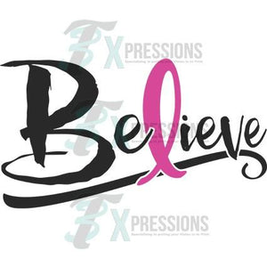 Believe Breast Cancer awareness - 3T Xpressions