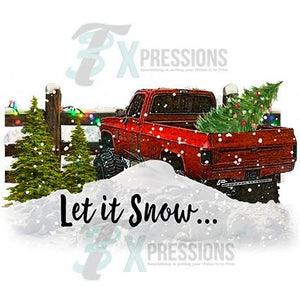 Let it snow truck