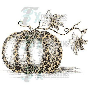 Weathered Leopard Pumpkin