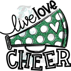Green Live Love Cheer