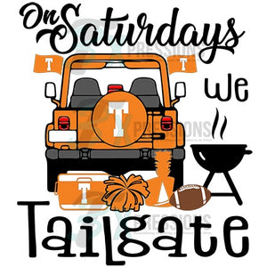 On Saturdays we Tailgate, Tennessee
