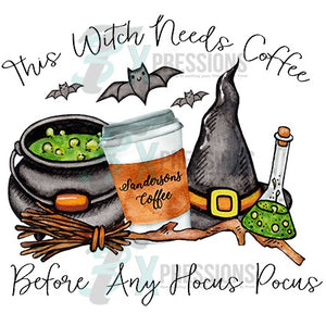 This Witch Needs Coffee