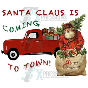 Santa Claus is coming to Town, Retro
