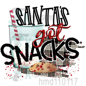Santa's Got Snacks