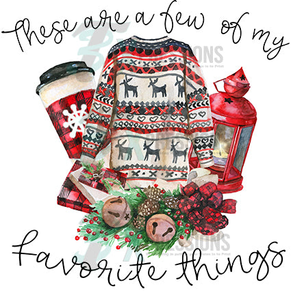 These Are A Few Of My Favorite Things Christmas 3t