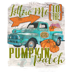 Follow me to the Pumpkin Patch