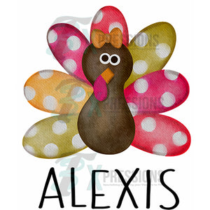 HTV Personalized Polkadot Turkey