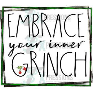 Embrace your inner Grinch