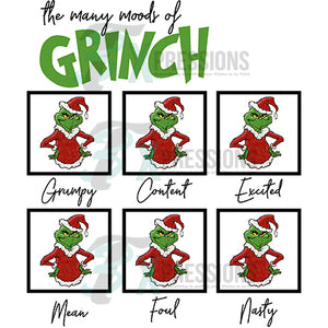Many Moods of the Grinch