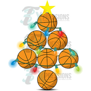 Basketball Christmas Tree