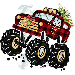 Christmas Monster Truck