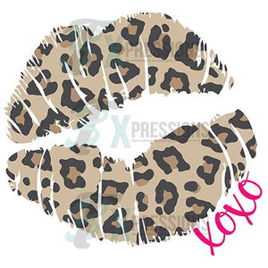 XOXO Leopard Lips