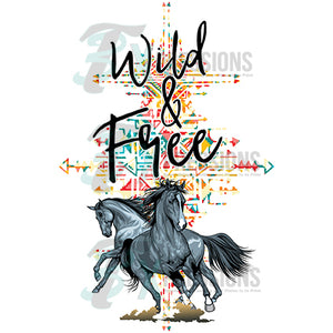 Wild and Free ,Horse