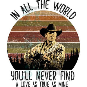 A Love as True, George Strait