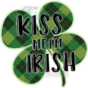 Kiss me I'm Irish Clover