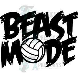 Beast Mode Volleyball