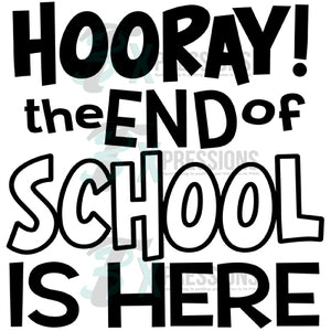 The End of School is Here