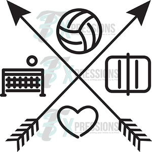 Volleyball Arrows