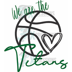 Personalized We are the, Basketball