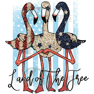 Land of the Free Flamingos
