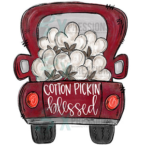 Cotton Pickin Blessed Truck