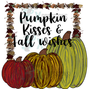 Pumpkin Kisses and Fall Wishes