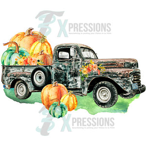 Vintage Fall Truck