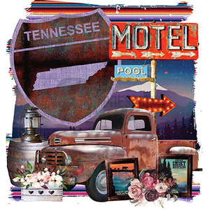 Tennessee mountain Truck Motel