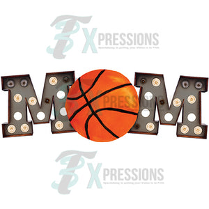Marquee Black Basketball Mom