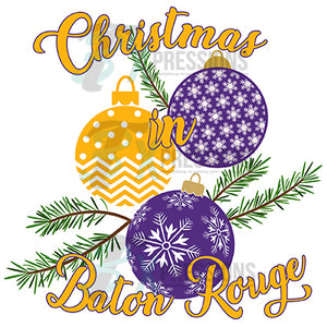 Christmas in Baton Rouge