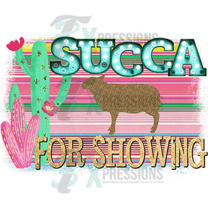 Succa For Showing SHEEP