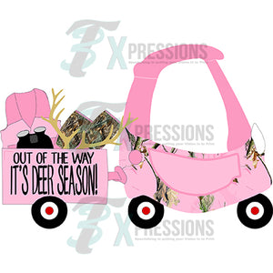 Cozy Coupe Hunting Pink