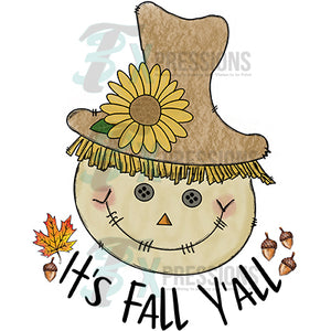 It's Fall Y'all Scarecrow