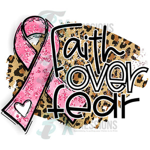 Faith Over Fear Leopard