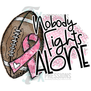 Nobody Fights Alone Football