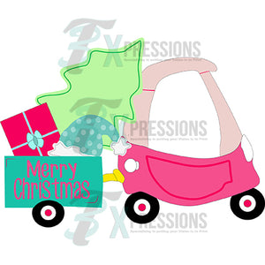 Cozy Coupe Christmas Pink