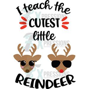 Teach the Cutest Little Reindeer