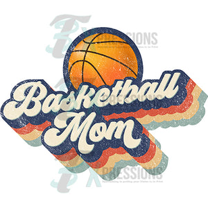 Retro Basketball  Mom