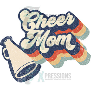 Retro Cheer Mom