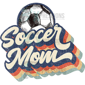 Retro Soccer Mom