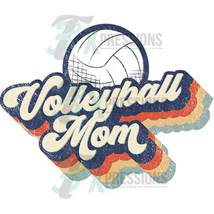 Retro Volleyball Mom