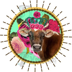 Cow with Crown