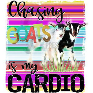 Chasing Goats is My Cardio SERAPE