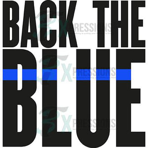 Back the Blue, Police