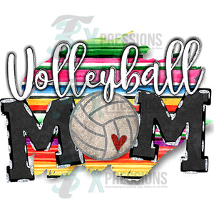 Volleyball Mom Serape
