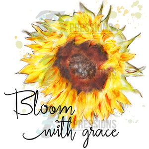 Bloom With Grace Sunflower