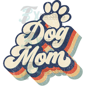 Retro Dog Mom